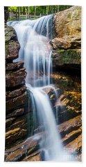 Bath Towel featuring the photograph Avalanche Falls2 by Mike Ste Marie