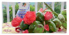 Hand Towel featuring the photograph Avocados by The Art of Alice Terrill