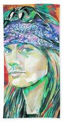 Axl Rose Portrait.2 Hand Towel
