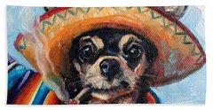 Ay Chihuahua Hand Towel