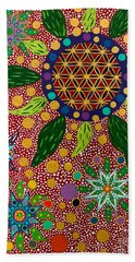Ayahuasca Vision - The Opening Of The Heart Bath Towel
