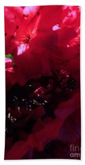 Hand Towel featuring the photograph Azalea Abstract by Robyn King