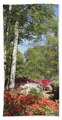 Azalea Flowers Bath Towel