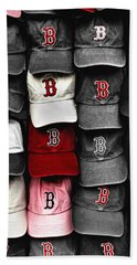 B For Bosox Bath Towel by Joann Vitali