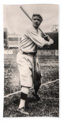 Babe Ruth Hand Towel by Bill Cannon