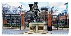 Babes Dream - Camden Yards Hand Towel by Bill Cannon