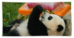 Baby Bao Bao's First Birthday Bath Towel by Emmy Marie Vickers