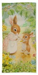 Baby Bunny Bath Towel