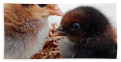 Baby Chicks Bath Towel by Pamela Walton