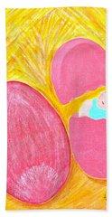 Baby Egg Hand Towel by Lorna Maza