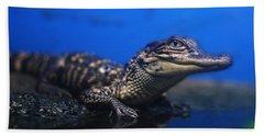 Baby Gator Hand Towel