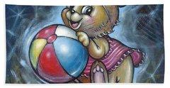 Baby Kangaroo 150911 Bath Towel by Selena Boron