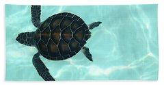 Baby Sea Turtle Hand Towel