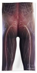 Back Pain Sciatica Bath Towel
