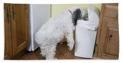 Bad Doggy Behavior Bath Towel