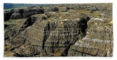 Badlands Hand Towel by Terry Reynoldson