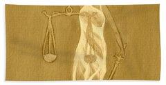 Balance 3 Hand Towel by Lorna Maza