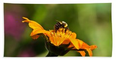 Balancing Bumblebee Hand Towel