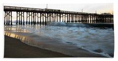 Balboa Pier  Hand Towel