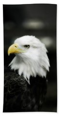 Bald Eagle Bath Towel by Peggy Franz