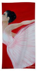 Ballerina.  Grace. Inspirations Collection Hand Towel
