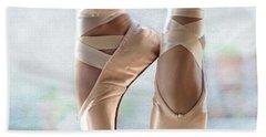 Ballet En Pointe Hand Towel