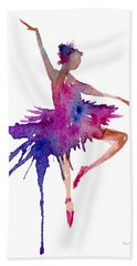 Ballet Retire Devant Bath Towel