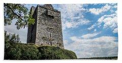 Ballinalacken Castle In Ireland's County Clare Bath Towel