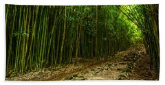 Bamboo Forest Hand Towel