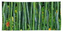 Bamboo Greens Hand Towel