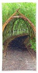 Bamboo Tunnel Hand Towel