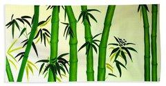 Bamboos Hand Towel