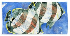 Banded Butterflyfish Hand Towel