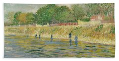 Bank Of The Seine Hand Towel
