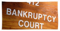 Bankruptcy Court Hand Towel
