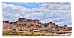 Bardenas Desert Panorama 1 Hand Towel
