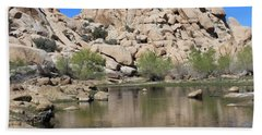Barker Dam Hand Towel by Amy Gallagher