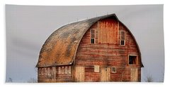 Barn On The Hill Hand Towel by Bonfire Photography