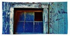 Barn Window 1 Hand Towel by Daniel Thompson