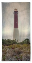 Barnegat Lighthouse Dawn Hand Towel