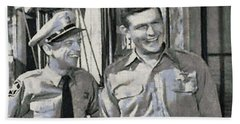 Barney Fife And Andy Taylor Bath Towel