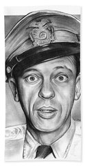 Barney Fife Bath Towel