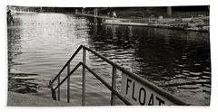 Barton Springs Pool In Austin Bath Towel