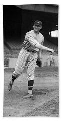 Baseball Star Walter Johnson Hand Towel