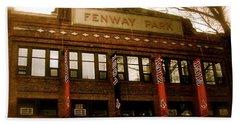 Baseballs Classic  V Bostons Fenway Park Hand Towel