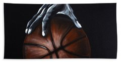 Basketball Legend Hand Towel