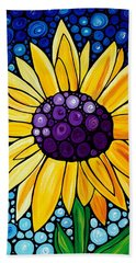 Basking In The Glory Hand Towel by Sharon Cummings