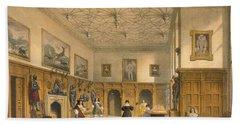 Bat Game In The Grand Hall, Parham Bath Towel
