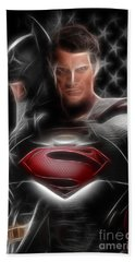 Batman Vs Superman  Bath Towel
