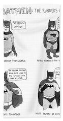Batmen Runners Hand Towel